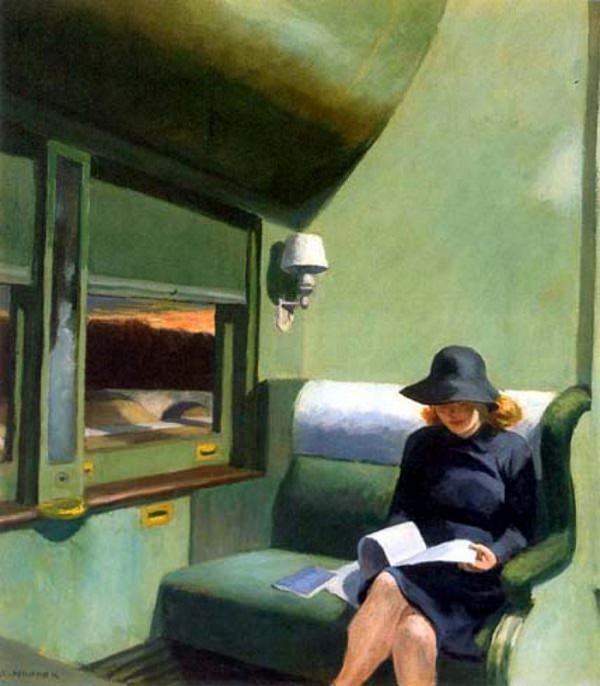 Compartiment C Voiture 293 - Edward Hopper (1938)